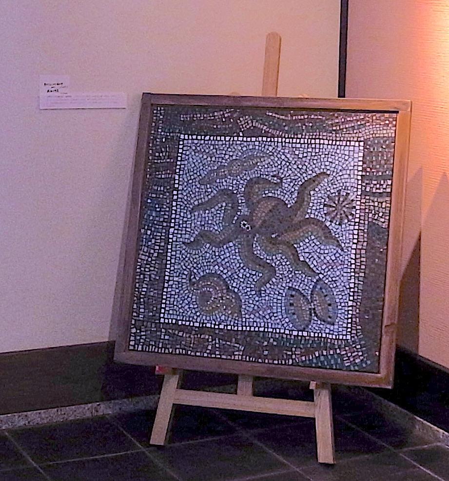 古代ローマの海の中 制作:岡田七歩美 2002