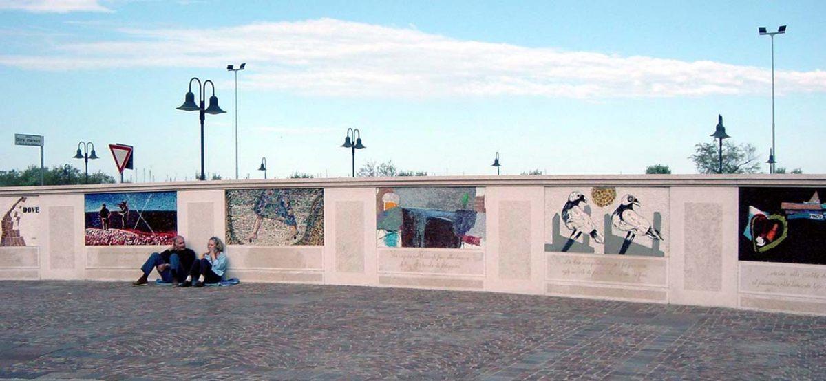 ラヴェンナのモザイク壁画コンクール実績 岡田七歩美1997年