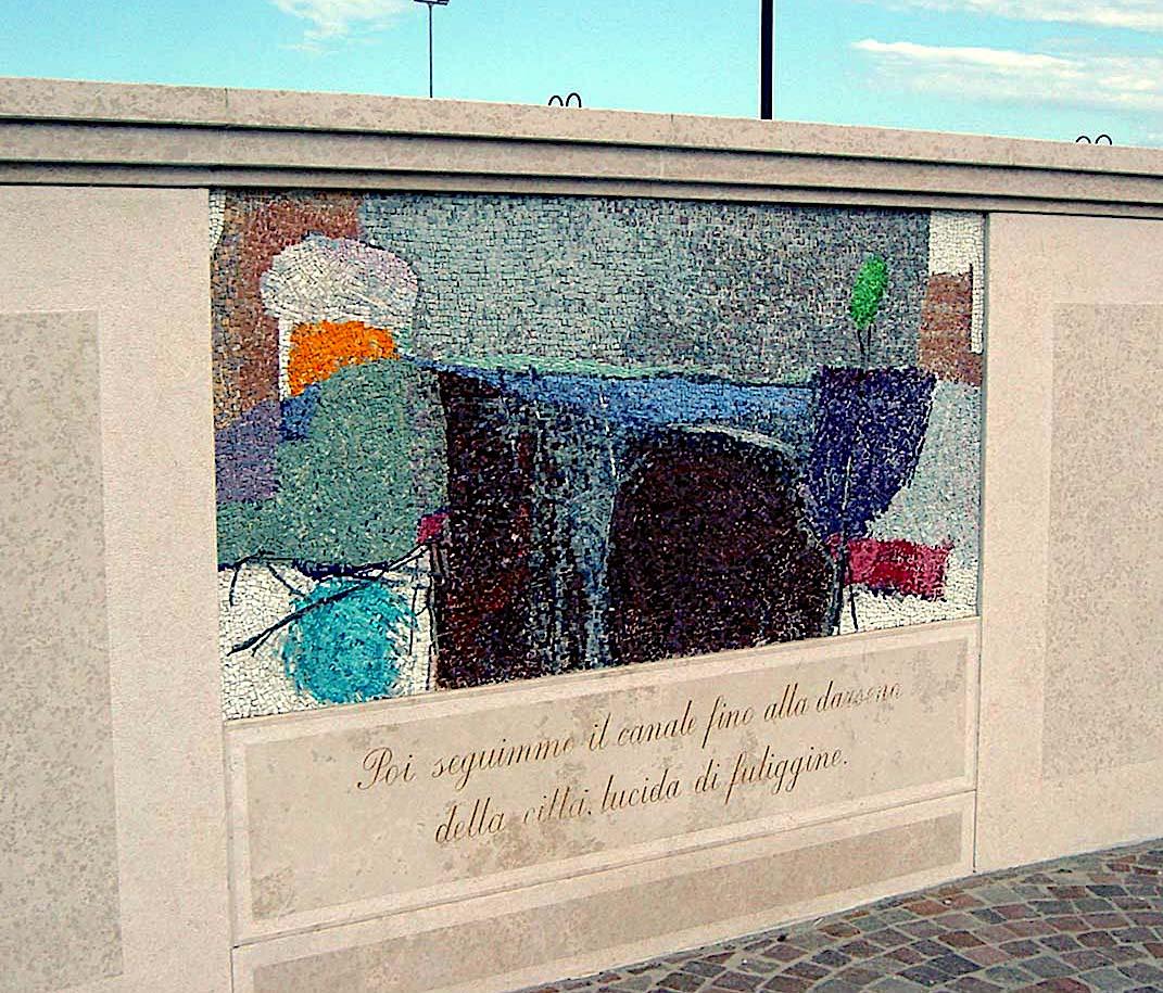 イタリアの壁画コンクール1997年