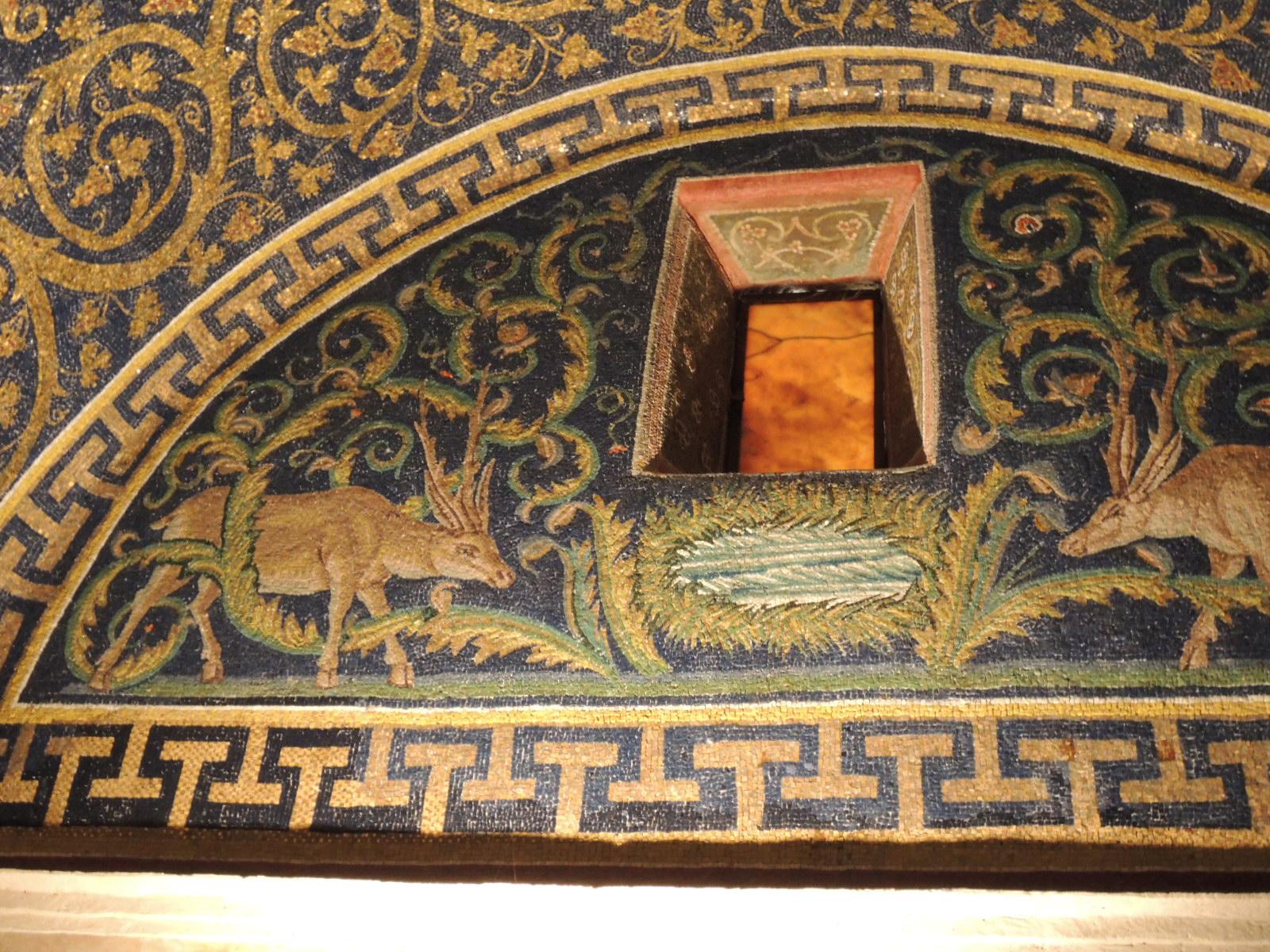 ガッラプラキーディア廟モザイク 画