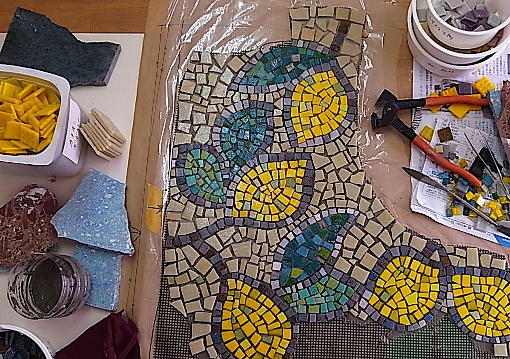 世界で人気のモザイクアートをDIY楽しもう!DIY作り方講座  in「七歩美モザイコ・ランド」