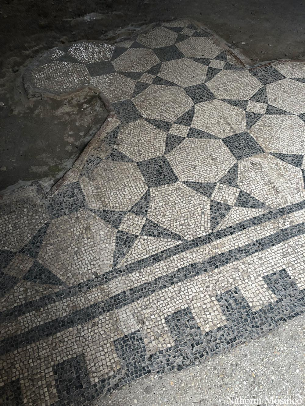 古代ローマの床デザイン オスティア アンティーカ